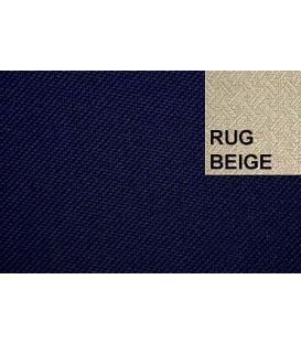 CABRIOLETKAPSTOF 05128 BLUE DARK RUG BEIGE