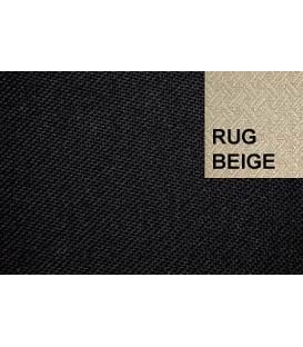 CABRIOLETKAPSTOF 05168 BLACK RUG BEIGE